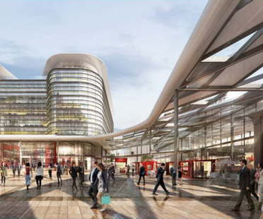 Foster + Partnersꞌ project wins the Cardiff Interchange competition