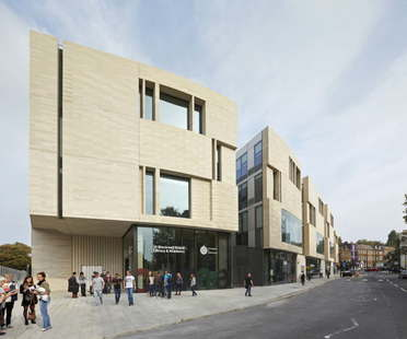 Heneghan Peng Architects University of Greenwich Stockwell Street Building London