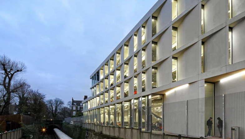 Heneghan Peng Architects University of Greenwich Stockwell Street Building London