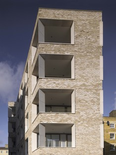 Niall McLaughlin Architects Darbishire Place Peabody Housing London