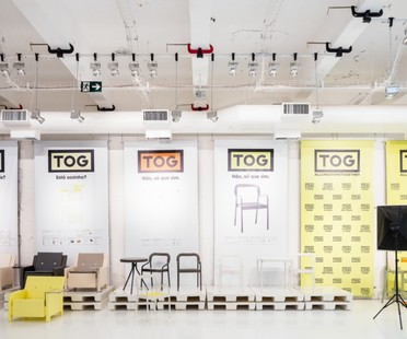 Triptyque Architecture + Philippe Starck, TOG Concept Store, São Paulo, Brasil