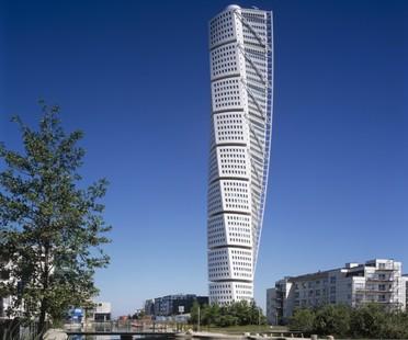 CTBUH 10 Year Award Winner 2015, Santiago Calatrava, Turning Torso, Malmo, Sweden