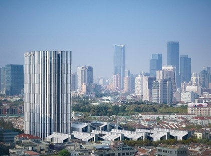 gmp has completed the SOHO Fuxing Lu urban district in Shanghai