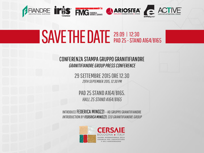 Cersaie 2015 Fiandre Group Press Conference