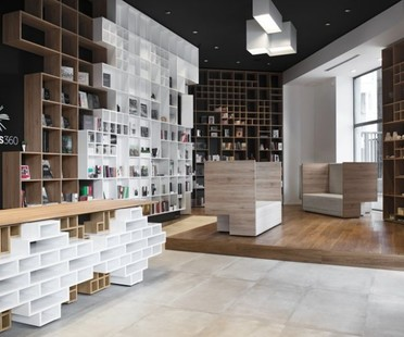Ts 360 the Slovenian bookshop in Trieste by SoNo Arhitekti