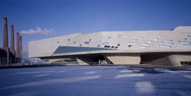 Phaeno Science Centre photo by Werner Huthmacher