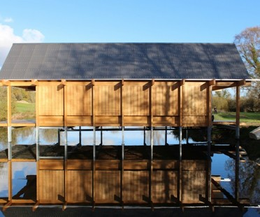 Niall McLaughlin Architects The Fishing Hut Hampshire
