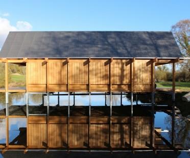 Niall McLaughlin Architects The Fishing Hut Hampshire