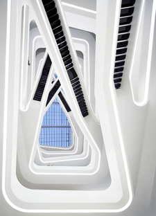 Zaha Hadid Architects Dominion Office Building Moscow