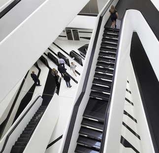 Zaha Hadid Architects Dominion Office Building Moscow