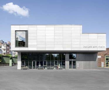 gmp building for the Düsseldorf ballet company