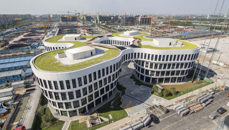 MVRDV Flower Building Shanghai Hongqiao Airport