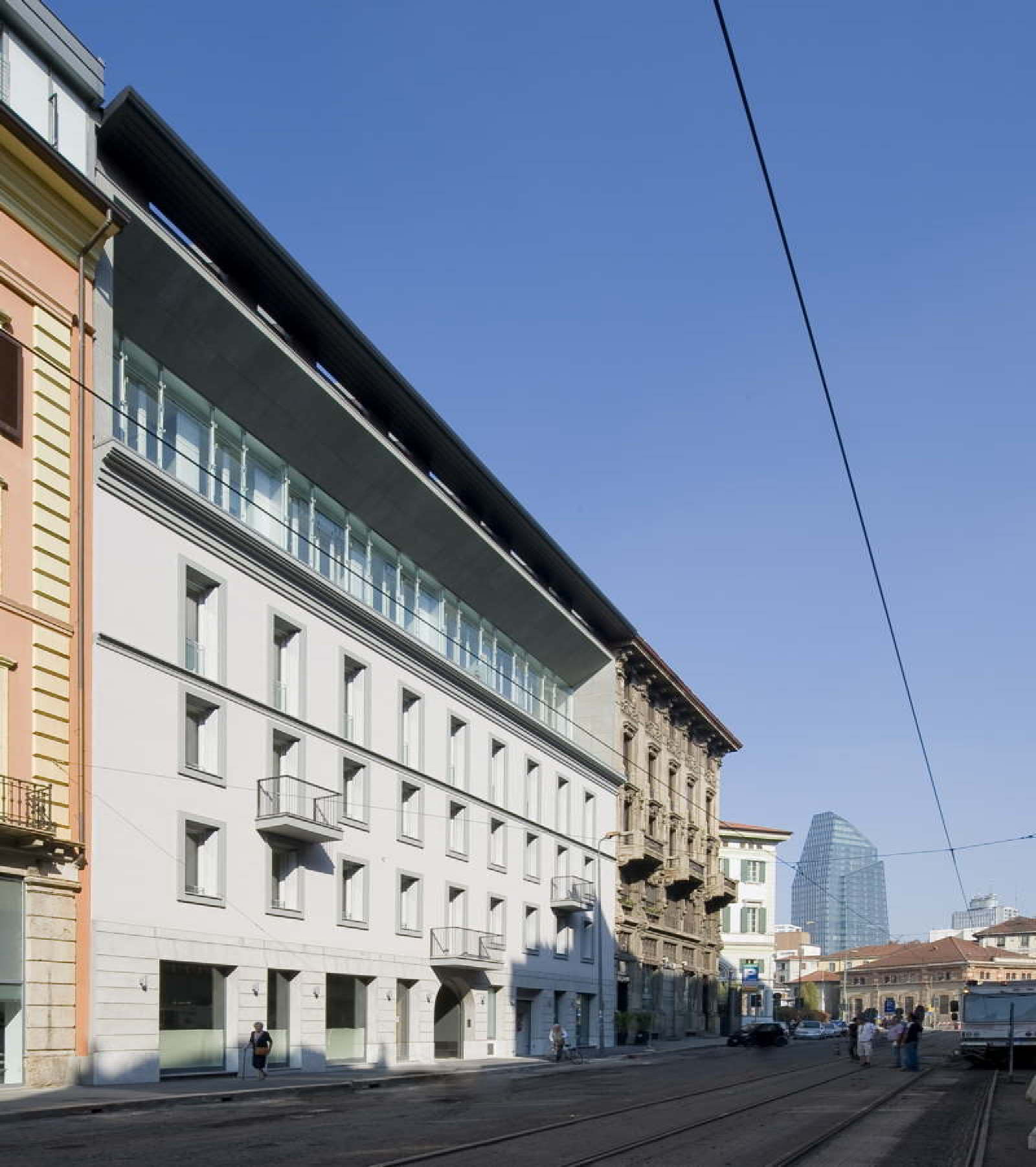 Westway Architects Residential Building In Milan