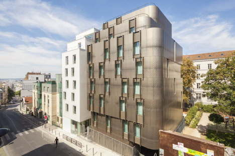 VIB Architecture student accommodation and nursery school in rue Ménilmontant, Paris