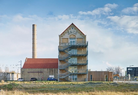 Coldefy CAAU renovation and expansion of former Dunkerque spinning mill