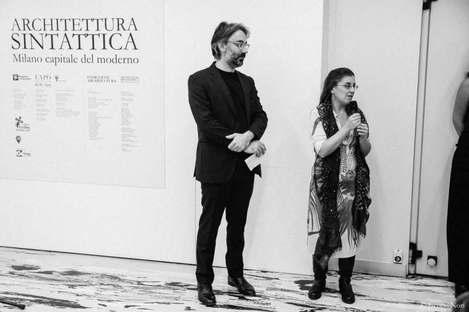 Architettura sintattica photo exhibition in Milan