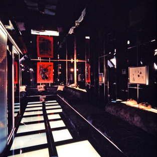 SpazioFMG Nanda Vigo exhibition in Milan