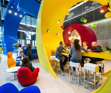Google campus in Dublin by Evolution Design