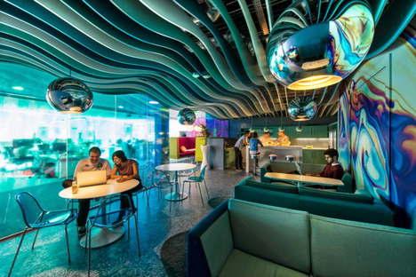 Google campus in Dublin by Evolution Design