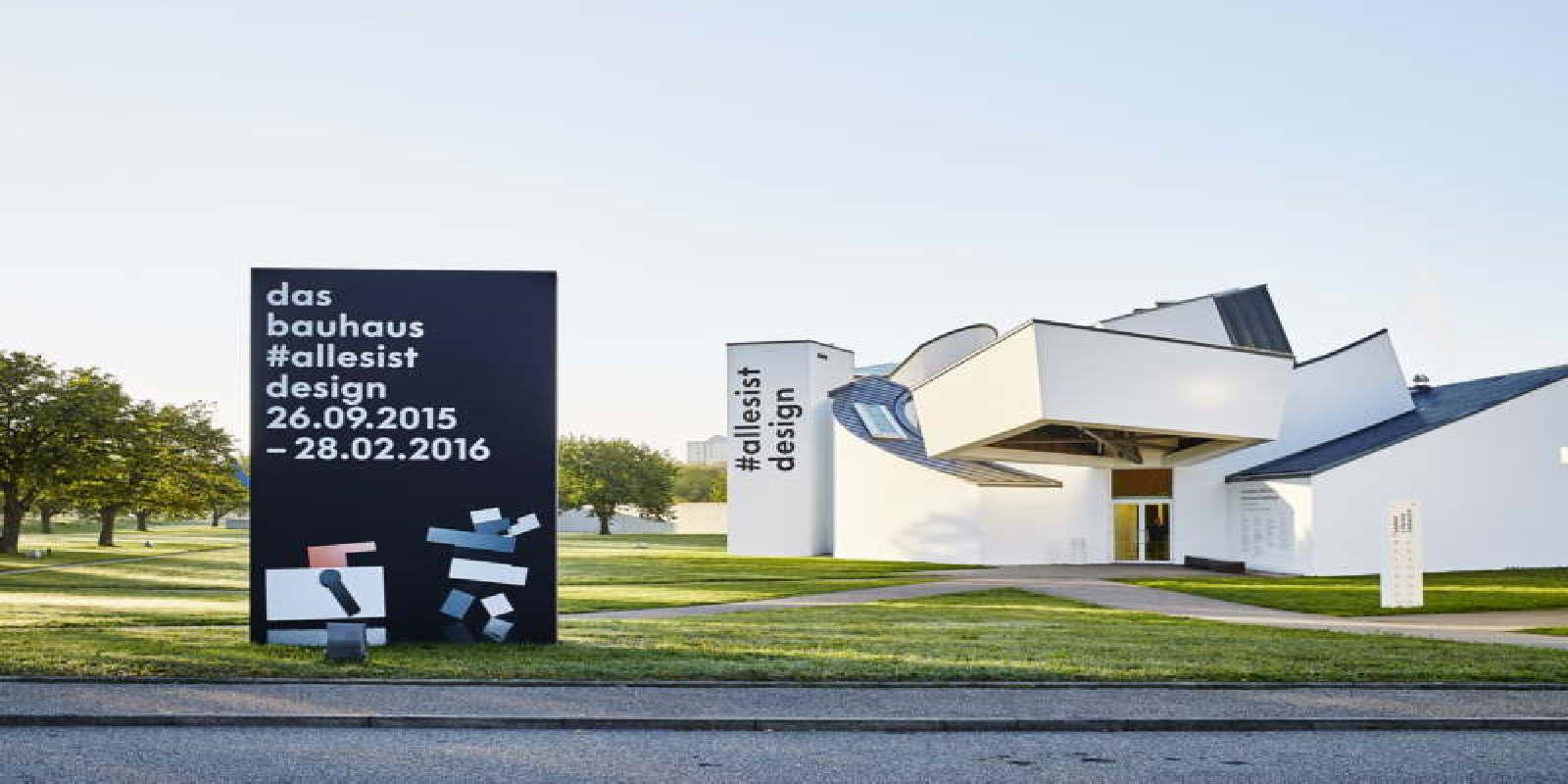 Vitra Design Museum The Bauhaus #itsalldesign exhibition | Floornature