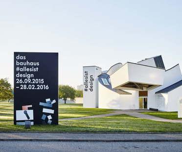 Vitra Design Museum The Bauhaus #itsalldesign exhibition