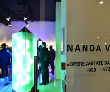 Nanda Vigo exhibition Opere abitate da opere at SpazioFMG