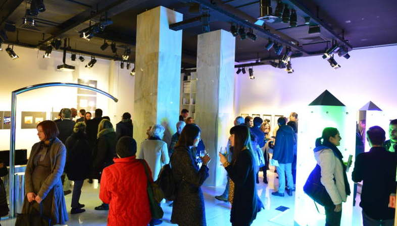 Nanda Vigo exhibition Opere abitate da opere at SpazioFMG