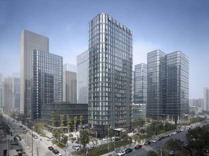gmp Dayuan International Center in Chengdu, China
