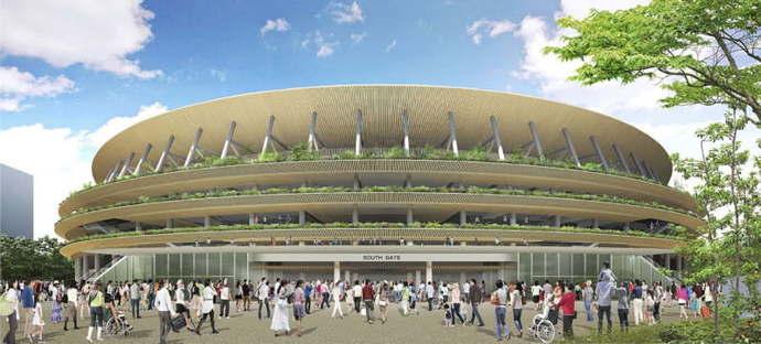 Tokyo replaces Zaha Hadid: Kengo Kuma will design the Olympic Stadium