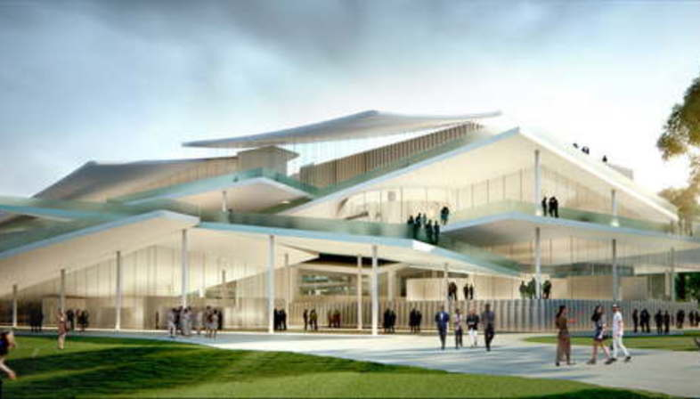 SANAA New National Gallery and Ludwig Museum Budapest