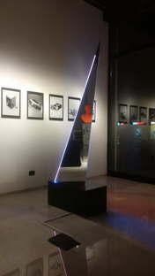 Deep Space New Light Totem Nanda Vigo exhibition at SpazioFMG