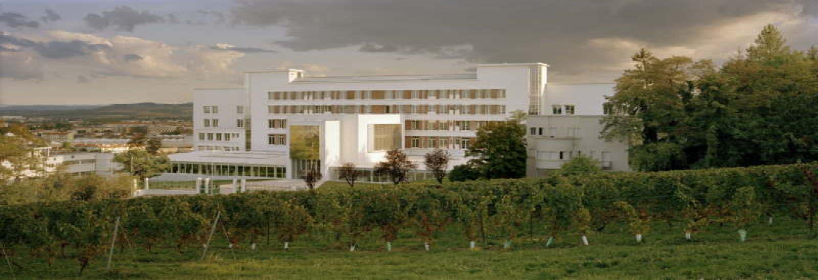 École D Architecture Clermont conversion of the sabourin sanatorium into a school of