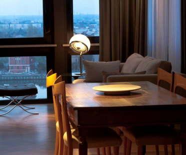 Paolo Carli Moretti interior design for a penthouse in Ravenna