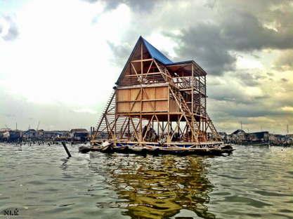 NLÉ: Makoko Floating School, Lagos, Nigeria, 2012; Image by NLÉ