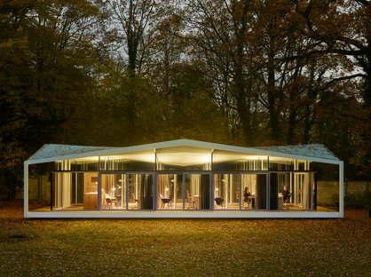 Barkow Leibinger Fellows Pavilion-American Academy in Berlin 2015 ©Stefan Müller