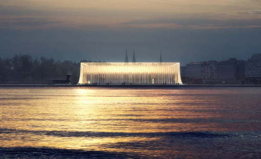 Asif Khan: Guggenheim Helsinki, Finland, 2015; Image courtesy Asif Khan