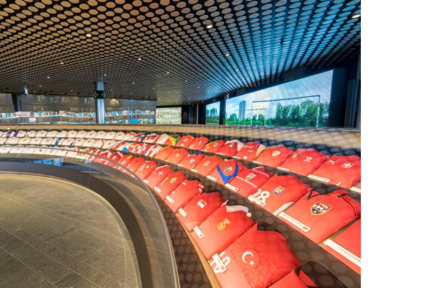 Lake Zurich Football >> FIFA Football World Museum opens in Zurich | Floornature