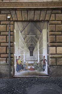 RoBoCoop: street art, classical painting and architecture