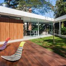 FGMF Architects Marquise House with patio in San Paolo
