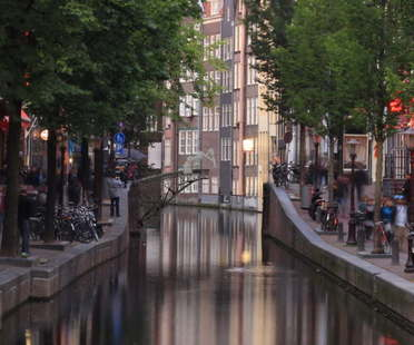 MX3D, a 3D printed bridge in Amsterdam