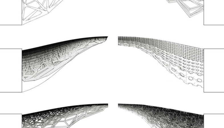 MX3D, a 3D printed bridge in Amsterdam