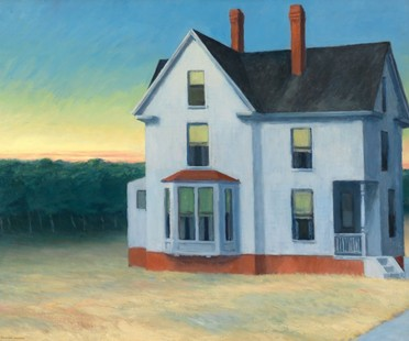 Edward Hopper and the American Landscape exhibition