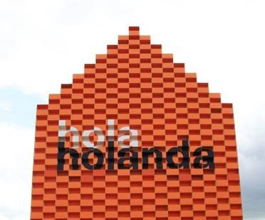MVRDV Hola Holanda FILBO pavilion Bogotá 2016