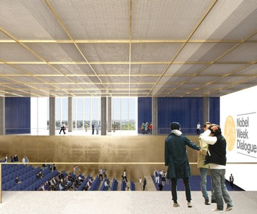 David Chipperfield Architects Nobel Center plans