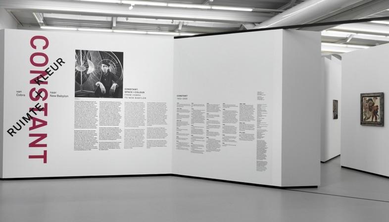 UNStudio Constant. Space + Colour exhibition installation