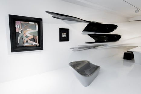 An exhibition designed by Zaha Hadid