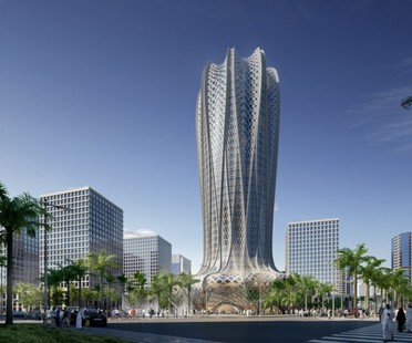 Zaha Hadid's new projects in Lusail City, Doha, Qatar