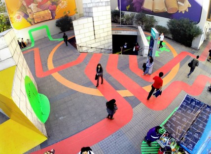 100architects: Using colour to revitalise a city plaza