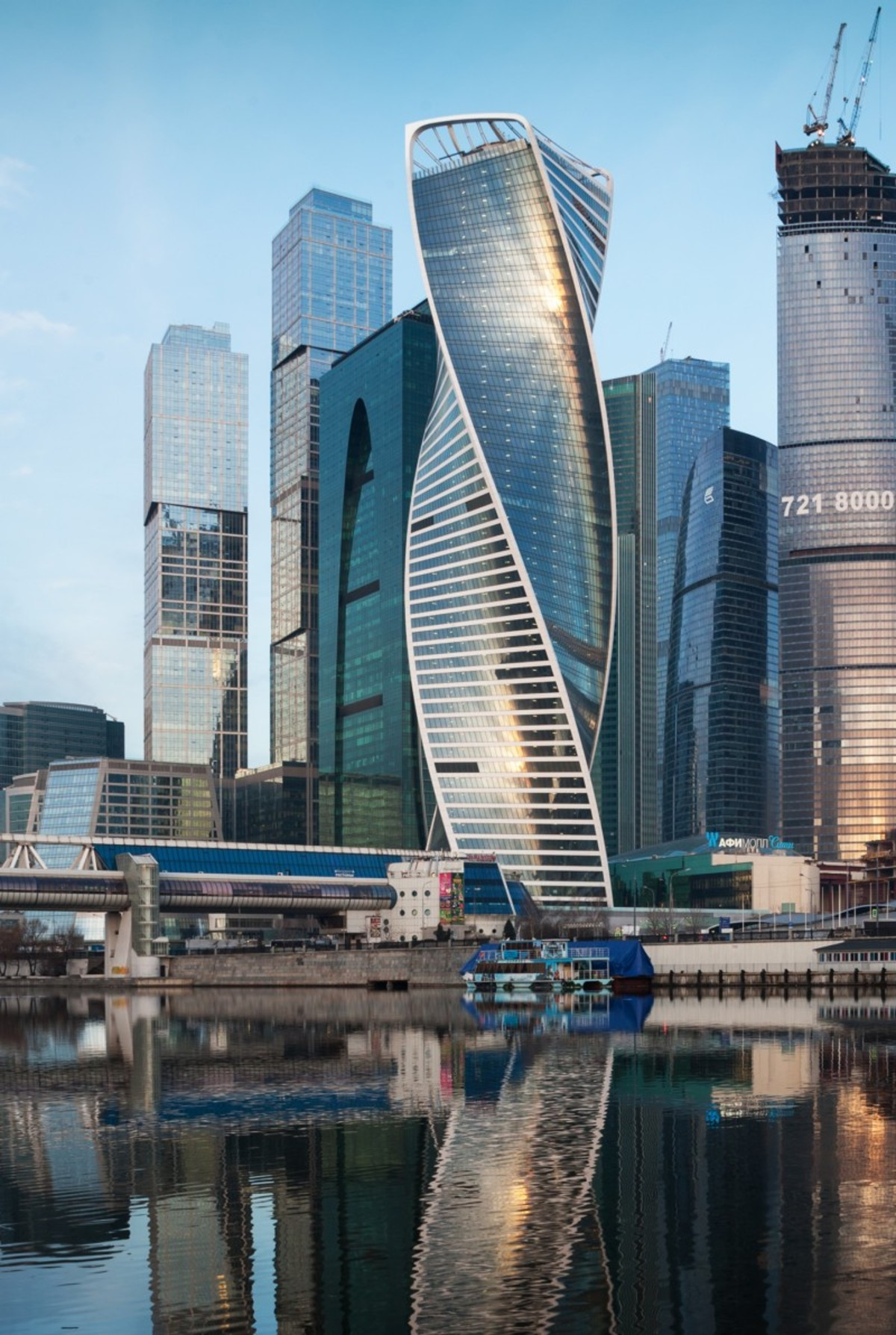 RMJM Evolution Tower Moscow | Floornature