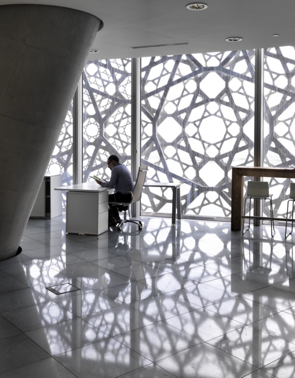 Ateliers Jean Nouvel Doha Tower Qatar Floornature